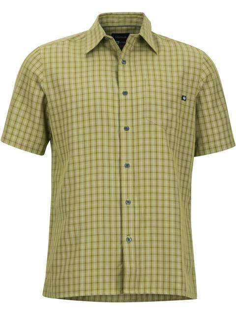 Marmot Eldridge SS Shirt Men Wheatgrass